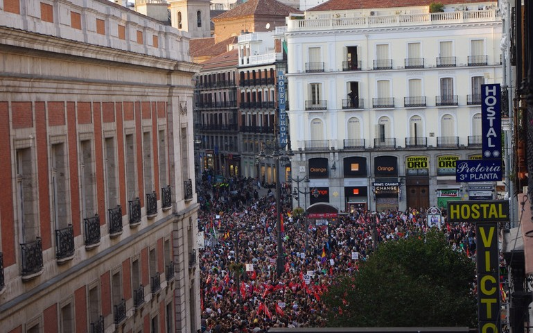 Spain National Strike, March 2012